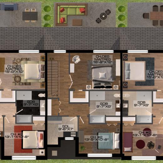 MDV - Plan étage